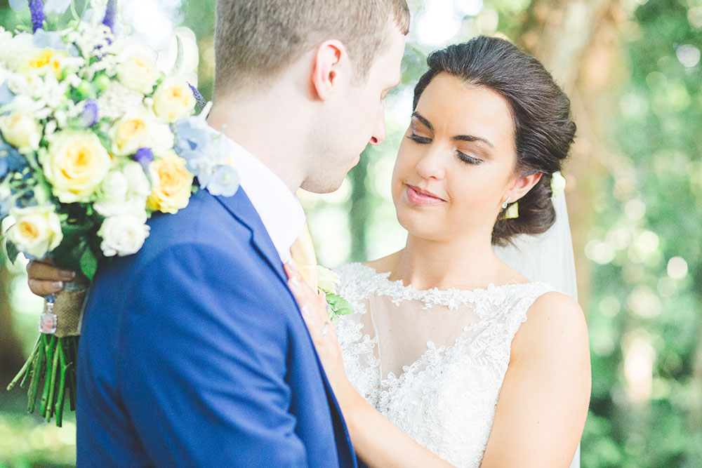 Light and Airy Photography of Bride and Groom at Matara Centre, Gloucestershire