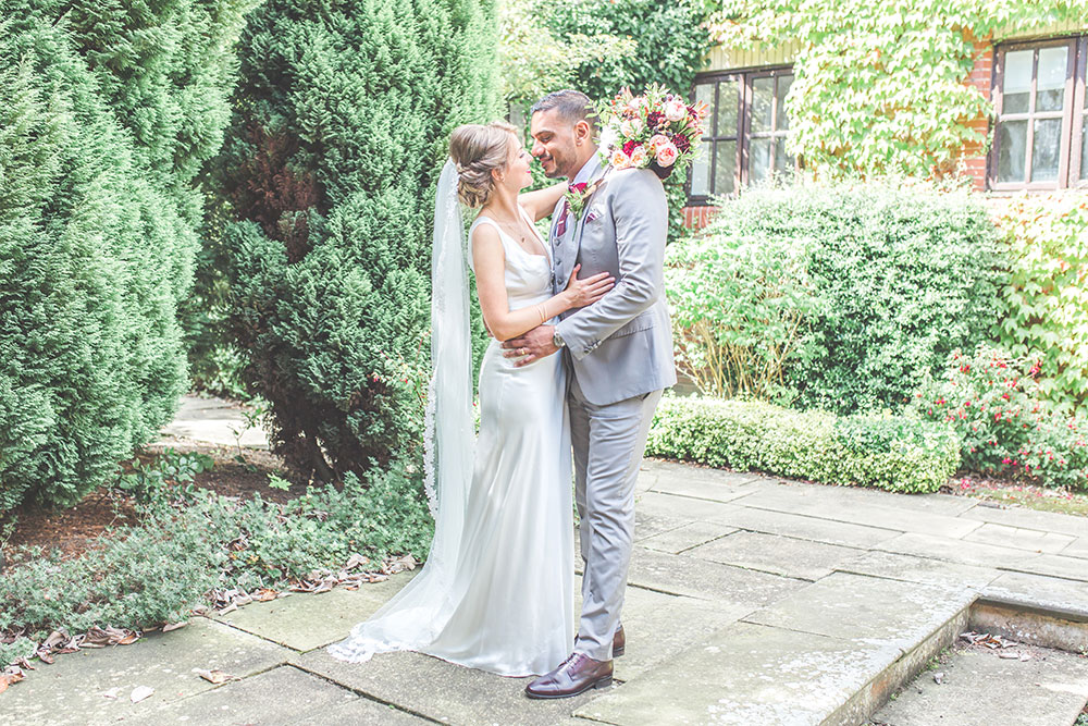 Multicultural Wedding at Dunchurch Park Hotel, Warwickshire, Charlie Brear Wedding Dress