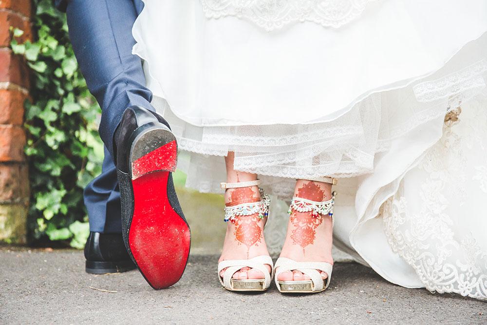 Groom's Christian Dior Wedding Shoes, Pendrell Hall