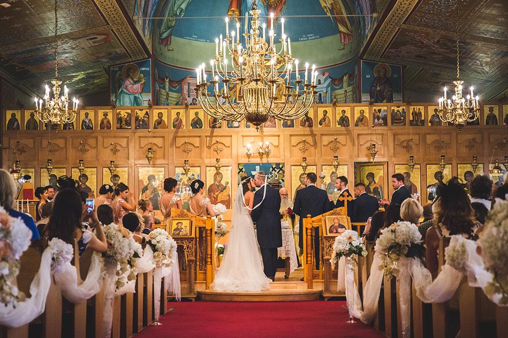 Greek Wedding Stefana Ceremony, Birmingham