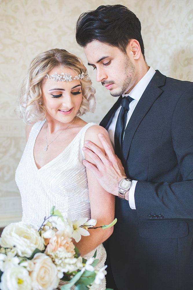 Luxury Civil Wedding at Alrewas Hayes, Eliza Jane Howell Wedding Dress